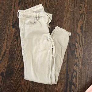 AE Hi-Rise Jegging Next Level Stretch Light Grey